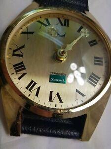 Vintage-Sansui-Huge-Watch-Style-Wall-Clock-Advertising