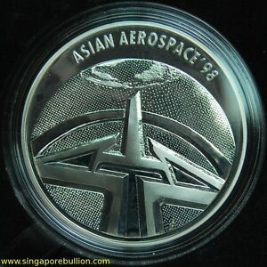 1998-Singapore-Aerospace-Silver-Proof-Medallion