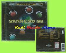 CD SANREMO 98 SERGIO CAPUTO TAGLIA 42 COSTA AQUA RUGGIERO sigillato mc (C13****)