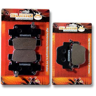 2006-2009 Honda Rincon 680 TRX680 Fourtrax Semi Metallic Front /& Rear Brake Pads