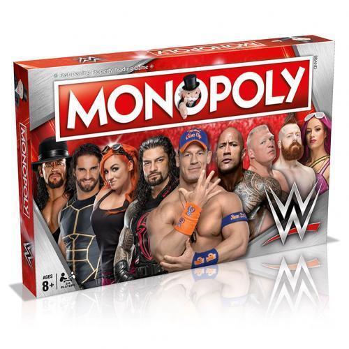 Wwe Edición Monopoly Producto Oficial