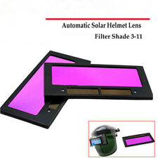 "4-1/4"" x 2"" solar Auto Darkening Welding Helmet/Mask Lens Filter Shade 3-11 p&M"