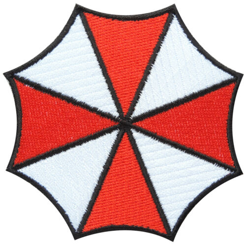 Umbrella Resident Logo Evil Badge Sew Embroidered Iron on Patches #M057