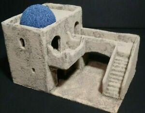 Details about Wargame terrain Middle Eastern CITY BUILDING (A2) 28mm  desert  scenery