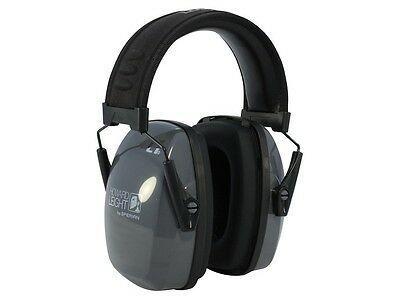 Howard Leight R01524 Leightning L1 Low-Profile Passive Earmuff NRR 25dB Blk/Gry