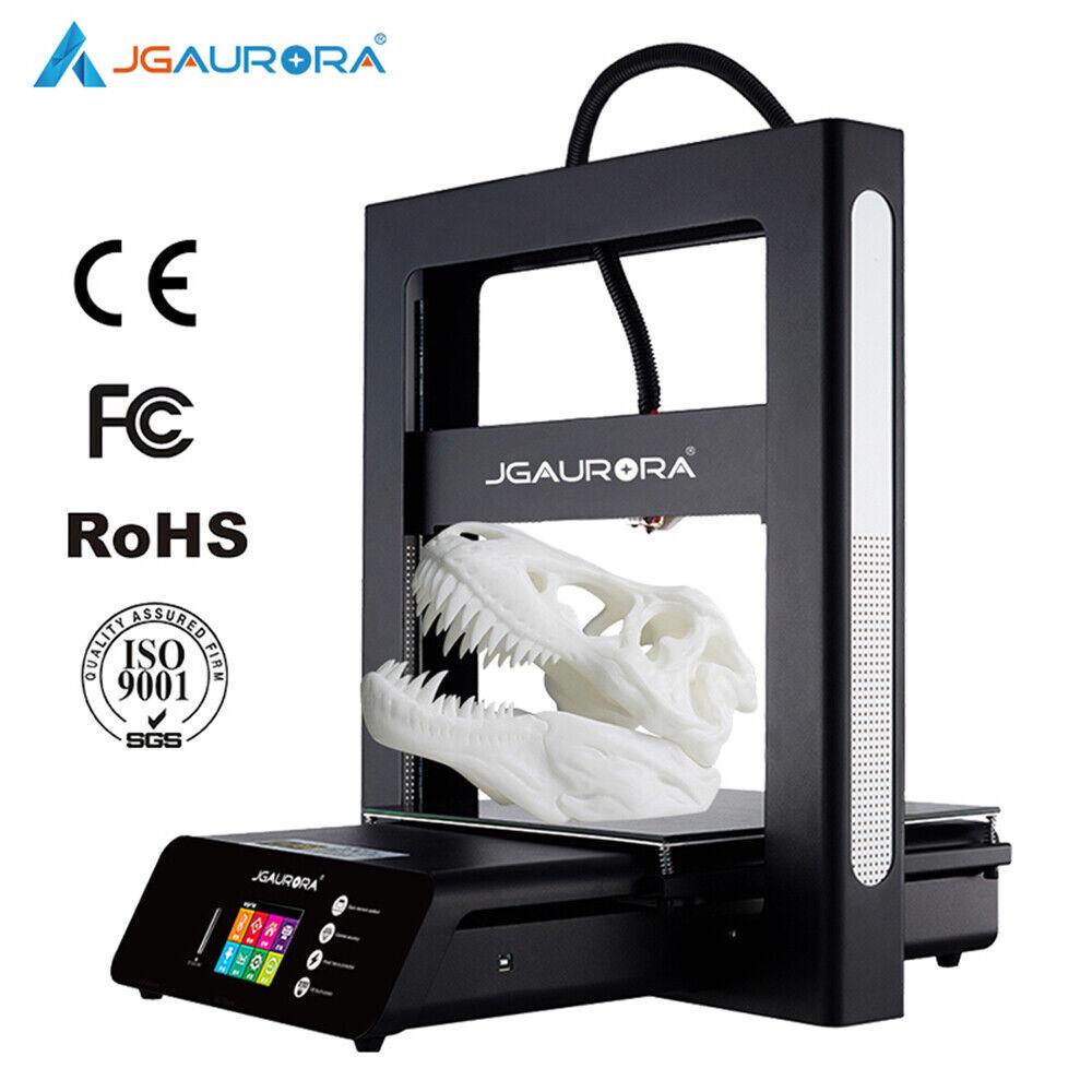 JGAURORA Used A5S 3D Printer Large Print Volume 12*12*12.6in Metal Struction