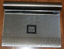 Cooking Club of America   Dough Scraper / Cutter / Chopper (Stainless Steel) NEW