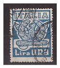 REGNO 1923 - MARCIA SU ROMA Lire 1 USATO