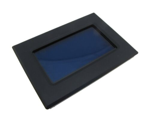 12864 128x64 Graphic LCD Display Module Blue Backlight w// Panel Cover