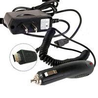 Motorola Motonav Tn20 Tn30 Gps Ac Adapter + Car Charger