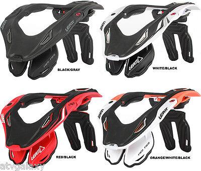 NEW LEATT GPX 5.5 NECK BRACE MX ATV MOTOCROSS WHITE BLACK RED ORANGE S/M L/XL