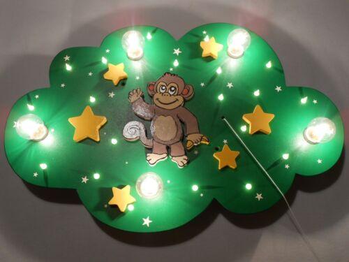 """Kinderzimmer Deckenleuchte Lampe /""""Adi Affe/"""" ; handgefertigt und individuell"""