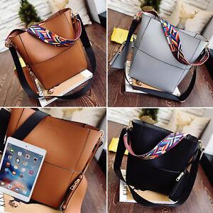 Women-Handbag-Leather-Shoulder-Bag-Purse-Ladies-Crossbody-Satchel-Tote-3-Colors