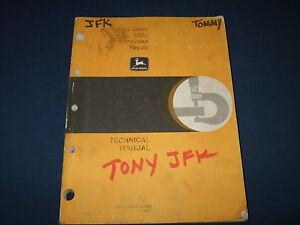 John Deere 1445 repair Manual John Deere Service Manual 1420