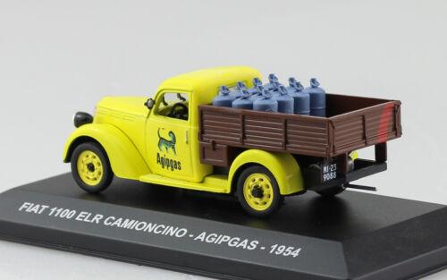 Fiat 1100 ELR Agipgas Transporter Pick up 1954 1:43 Ixo//Altaya Modellauto