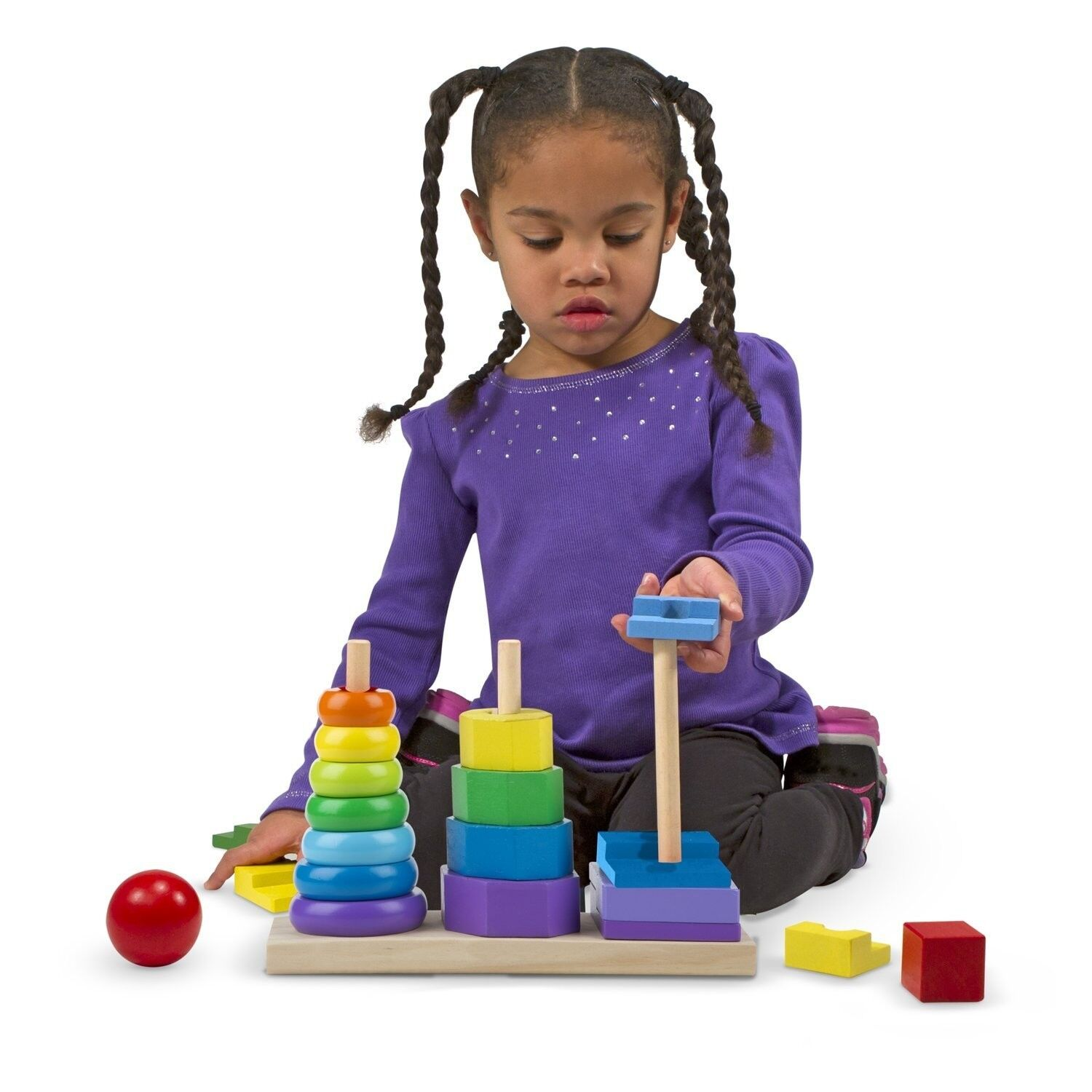 Sensory Educational Stacker Toy Autism Special Needs ...