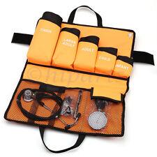 Manual Blood Pressure Cuff Full Size Aneroid Sphygmomanometer Nurses Bp Monitor
