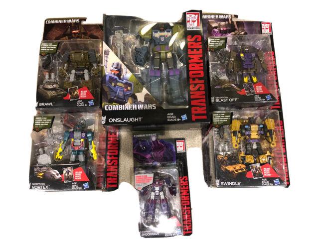 Transformers Combiner Wars Combaticons Bruticus 5 Figures + Shockwave