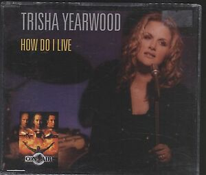 Trisha-Yearwood-How-do-I-live-CD-single