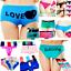 4-Women-Panties-Underwear-Bikini-Lace-Cotton-Thong-Briefs-Shapewear-Body-Shaper thumbnail 3