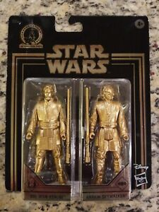 2019 Obi-Wan Kenobi & Anakin Skywalker Star Wars Gold Commemorative Edition NIP