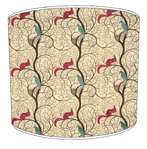 Squirrel Designs Lampshades Ideal To Match Squirrel Cushion /& Squirrel Wallpaper