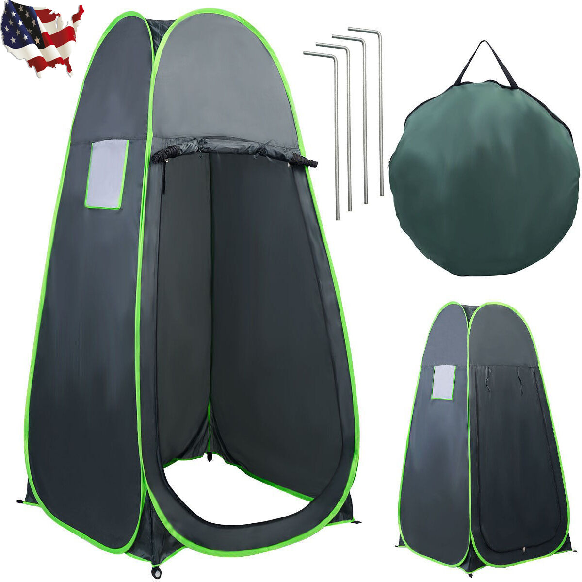 Portable Camping Tent Bathing Toilet Shower Changing Single  Room Enough Space  for your style of play at the cheapest prices