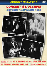 DVD Johnny Hallyday : Concert à l'Olympia - Octobre - Novembre 1962 / Son Stéréo