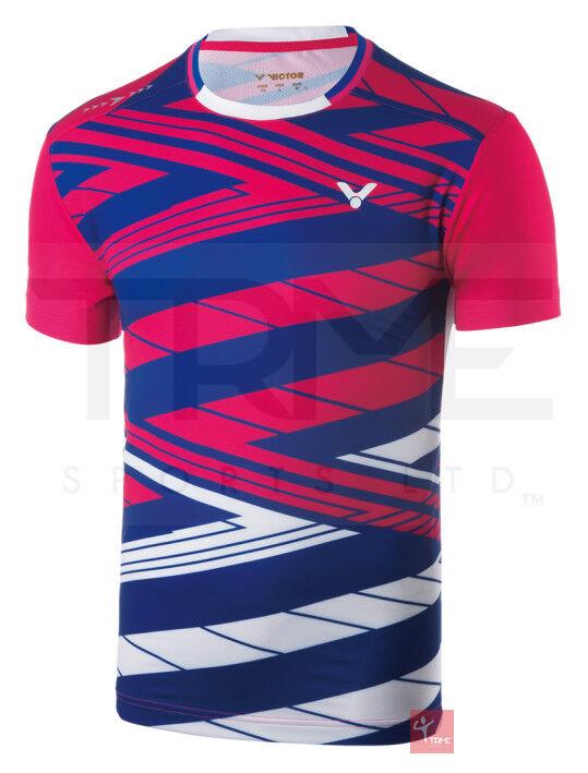 Victor Korea Badminton Team Shirt 6448 Unisex