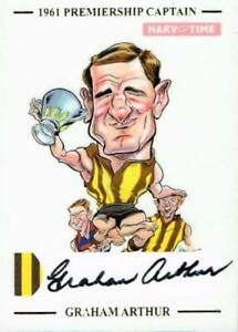 HARV-TIME-PREMIERSHIP-CAPTAIN-SKETCH-CARD-HANDSIGNED-GRAHAM-ARTHUR-LTD-ED-61-49