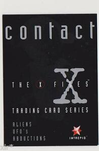 X-FILES-CONTACT-TRADING-CARDS-PROMO-CARD-INTREPID-AUSTRALIA