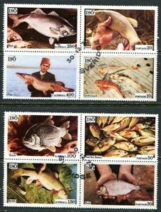 ISO-SWEDEN-1975-FOOD-FISH-COMPLETE-SET-OF-8-STAMPS