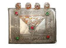 orient nomaden schmuck Silber Amulettbehälter  Anhänger afghan Brustschmuck No-5