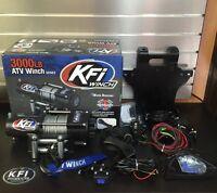 Honda 500 Foreman 07-11 Kfi 3000 Lb Winch + Mount Combo 03-16 W Remote + Rocker