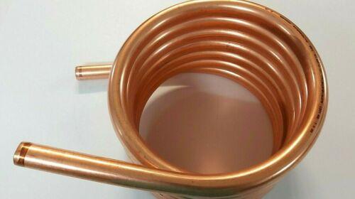 Spirale Kupferrohr 22x1mm aus ca 23cm mit 7 Windungen 4,5m Außendurchmesser ca