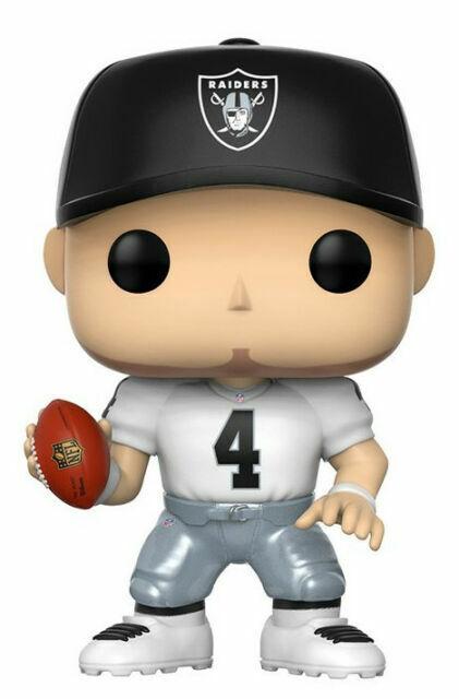 VINILE FIGURA-NFL FOOTBALL WAVE 3 # 47 Raiders Derek CARR Nuovo Funko POP