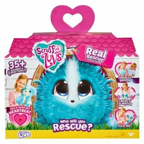 Scruff a Luvs Real Rescue Electronic Pet NEW - FAST SHIP