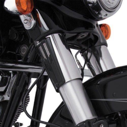 Ciro Black Fork Tin Accent for Harley FLHR Road King FLHX Street Glide 08-13