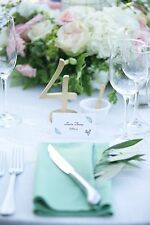 Gold Table Numbers for Wedding or Party Decor, Wooden 1-12