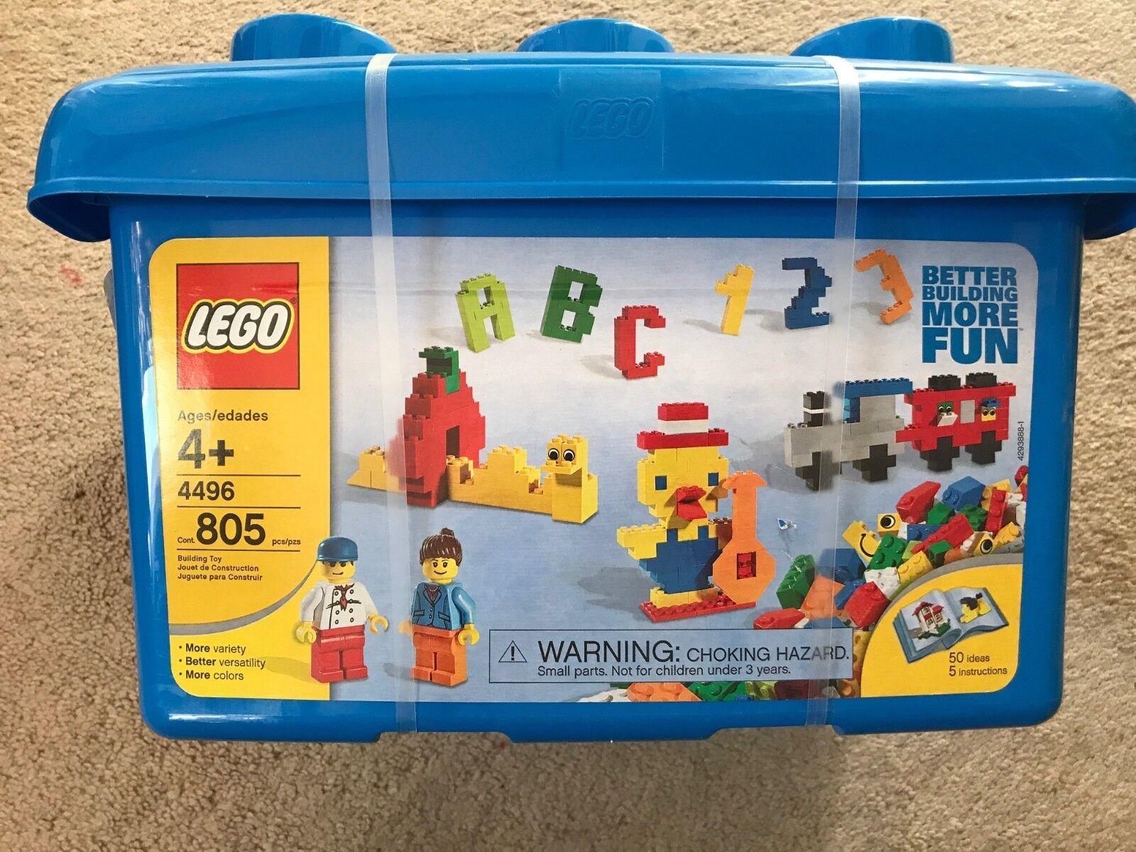 LEGO Fun with with with Building Tub (4496) NIB 9184fe