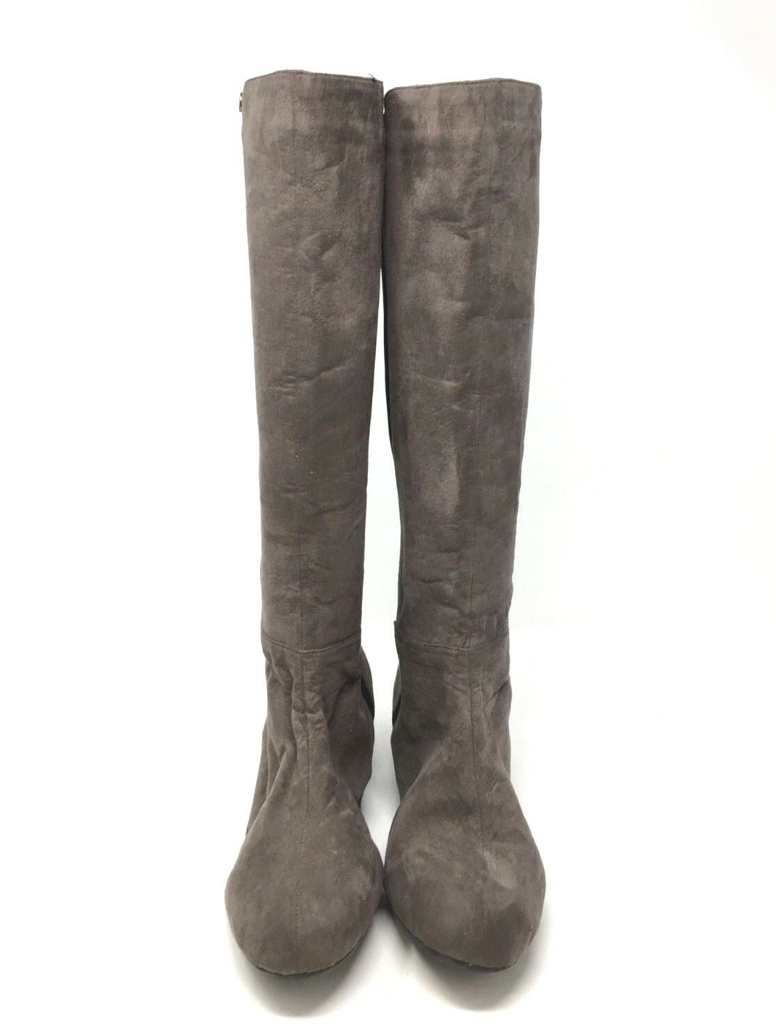 J.Renee Women's Valik Valik Valik Grey Knee High Wedge Boots size  9 W fd0b48