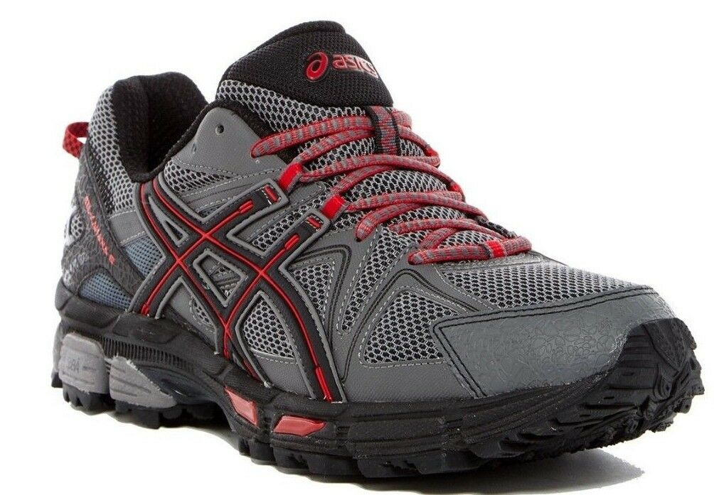 ASICS GEL-Kahana 8 Men's Running shoes Shark Black True Red Size 10