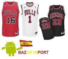 CAMISETA CHICAGO BULLS NBA GASOL, LOVE, JORDAN.. COLOR, TALLA Y DORSAL A ELEGIR
