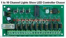 1 to10 Channel Light Show LED Programmable Controller Chaser PIC microcontroller