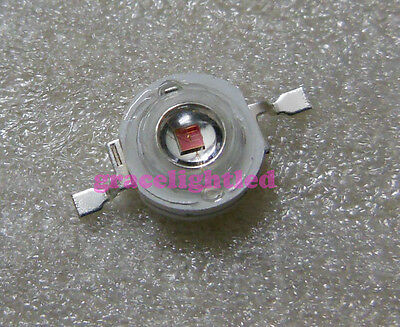 10pcs Red 3W 640nm High Power LED  for Plant Growing