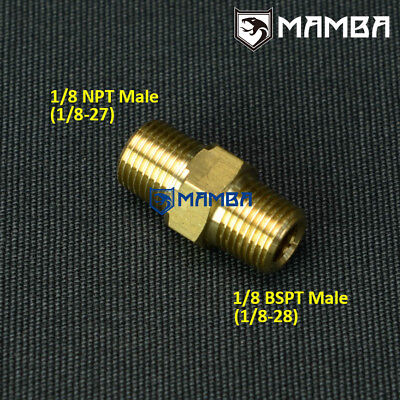 """Made Of Steel 4AN to 1//8 PT BSPT Line Fitting Adapter 1//8/""""-28 90Deg"""
