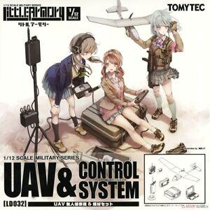 1/12 LD032 UAV & CONTROL SYSTEM  TOMYTEC    4543736314233