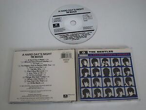 A-HARD-DAY-039-S-NIGHT-Soundtrack-The-Beatles-Parlophen-Cdp-7-46437-2-CD-Album