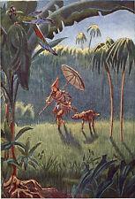 Scholz - De Foe (Defoe), Daniel. Robinson Crusoe. Seine Lebensschicksale EA 1910