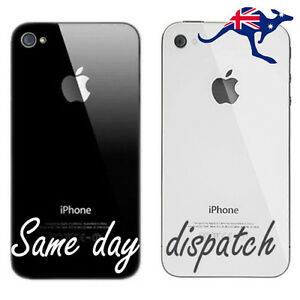 New-Battery-Cover-Back-Glass-Rear-Panel-Replacement-for-Apple-iPhone-4-4S-B-amp-W